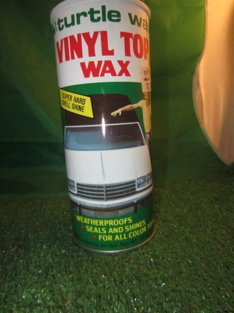Vintage 1983 Turtle Wax Vinyl Top Wax 14 Oz Can Kitschy K