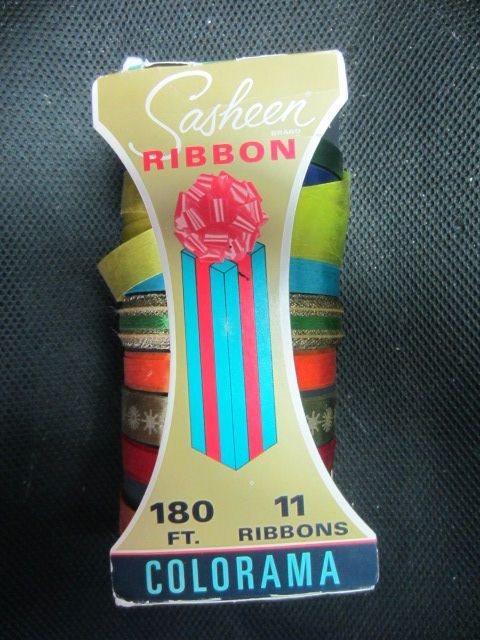 sasheen ribbon colorama 3m co gift wrap kitschy used