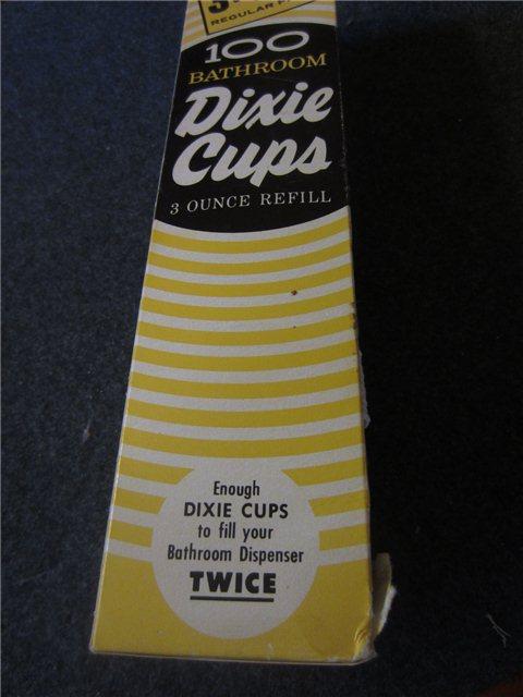 Ideal Vintage Dixie Cups Original 3 Ounce Bathroom Refill 100 count  BJ92
