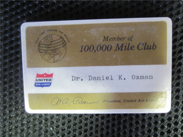 club membership card
