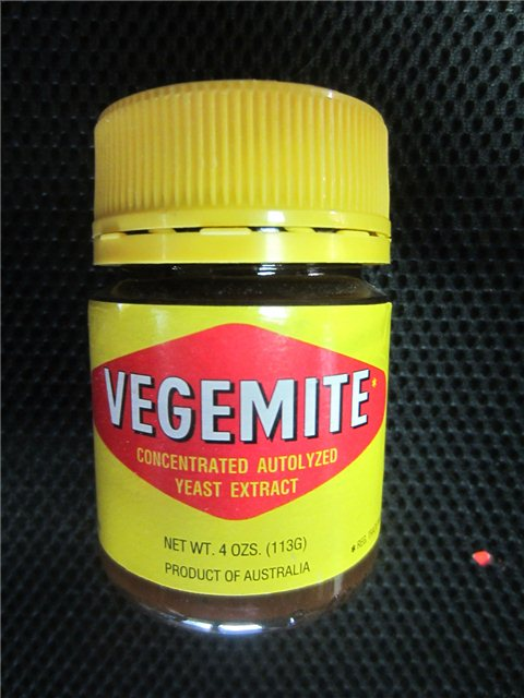 Vegemite Concentrated Autolyzed Yeast Extract 4 Oz Jar