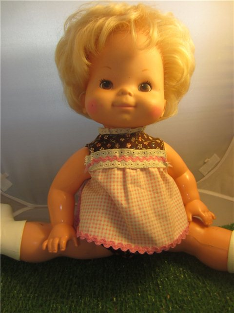 Vintage Doll Baby Come Back 1976 Mattel Toy